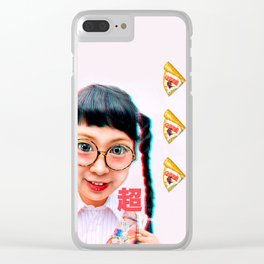 Otaku Girl Clear iPhone Case