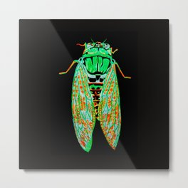 Cicada (Inverted) Metal Print