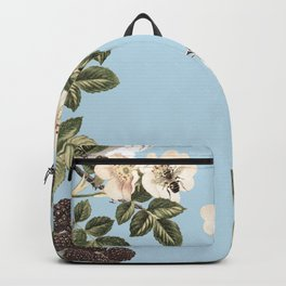 Birds and the Bees Blue Backpack