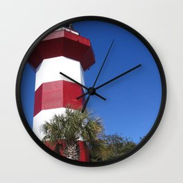 Habour Town Lighthouse Wall Clock