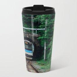 Tunnel Train Metal Travel Mug