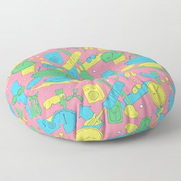 Back to the Doodles Floor Pillow