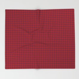 Rose Tartan Throw Blanket