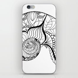 Nautilus Mandala iPhone Skin