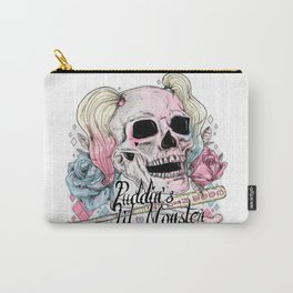 Skull&Roses Carry-All Pouch