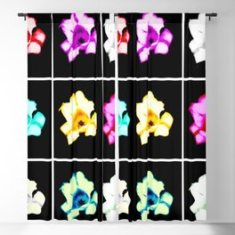 Tulips Collage Blackout Curtain