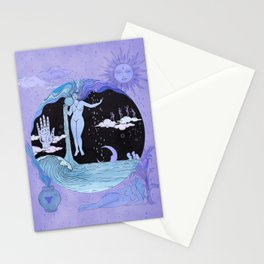 THE WATER MAGICIAN Stationery Cards