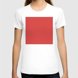 Red, Plain Red, Classic Red T-shirt