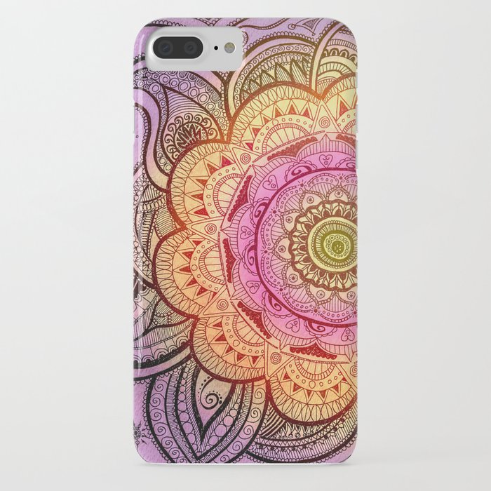 Colorful Mandala iPhone Case