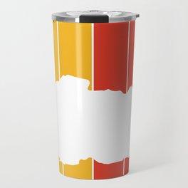 bhutan Country and Flag Travel Mug