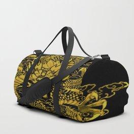 Epic Dragon Yellow Duffle Bag