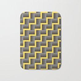 Plus Five Volts - Geometric Repeat Pattern Bath Mat
