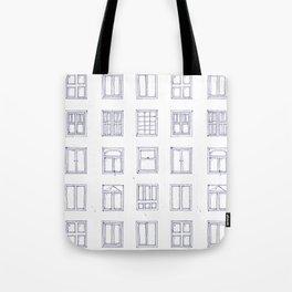 windows sketch Tote Bag