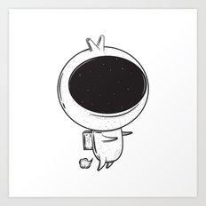 Space Fart Art Print