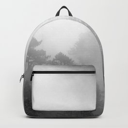 Harmony - Misty Mountain Forest Nature Photography Backpack