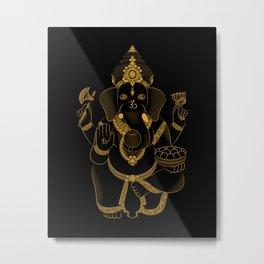 Ganesh - Hindu Gods Series Metal Print