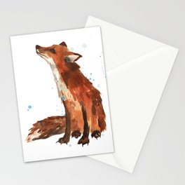 Mindful Fox Stationery Cards