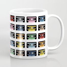 80 Rainbow Tapes Coffee Mug