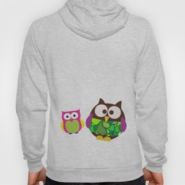 new owl/color Hoody