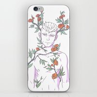 heymonster iPhone & iPod Skins featuring Pretty Boy 5 by heymonster