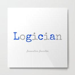 Logician Metal Print