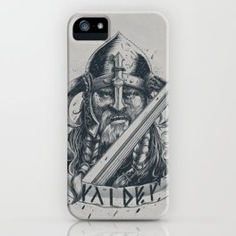 Raider (Viking) iPhone Case