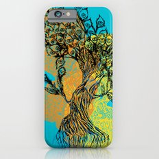 peacock tree iPhone 6s Slim Case