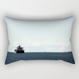 leaving port Rectangular Pillow
