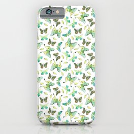 Colorful Butterflies 2 iPhone Case