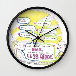 What Alvin Bender Said Wall Clock