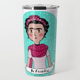 Frida Khalo Travel Mug