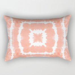 SHIBORI FESTIVAL SUMMER - WILD AND FREE - BLOOMING DAHLIA Rectangular Pillow