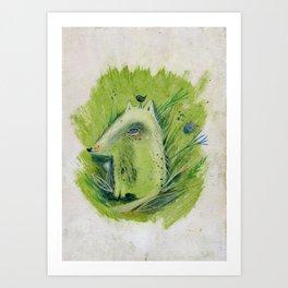 A very good Wolf Art Print