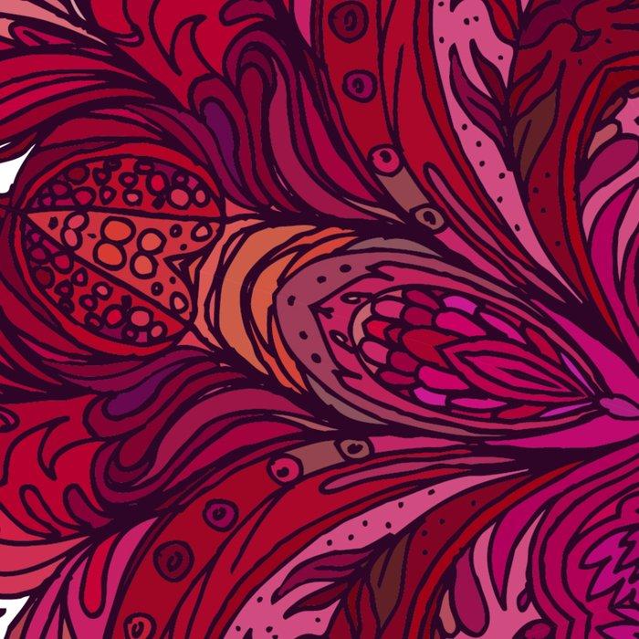 Pink Indian Mandala Leggings