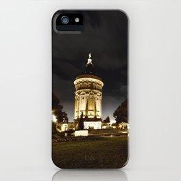 Mannheim Wasserturm iPhone Case