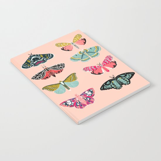 Lepidoptery No. 1 by Andrea Lauren  Notebook
