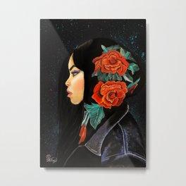 PrettyHoodie Metal Print