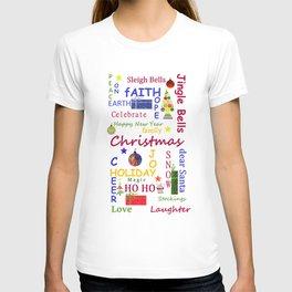 Christmas Message T-shirt