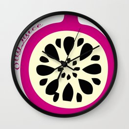 OllyJuice Wall Clock