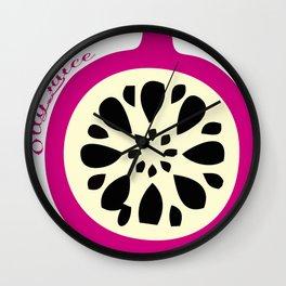 OllyJuice Wall Clock
