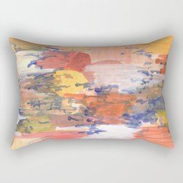 paisaje abstracto Rectangular Pillow