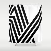 hello Shower Curtains featuring Hello by fly fly away