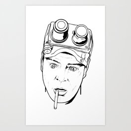 Dan Aykroyd - Ghostbusters Art Print
