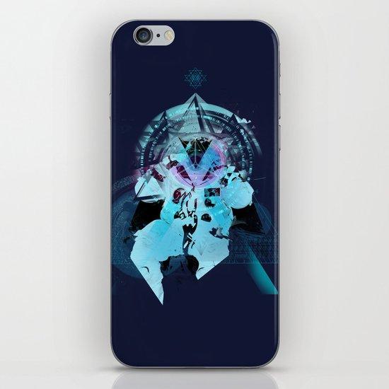 Illuminati Astronaut iPhone & iPod Skin