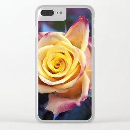 MAGIC ROSE SOUND Clear iPhone Case