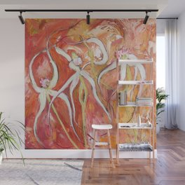 Spider Orchid Wall Mural