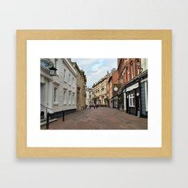 Trinity House Lane Framed Art Print