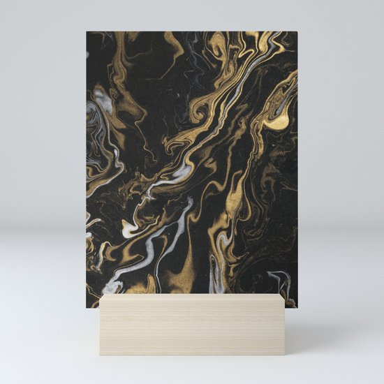 marble black and gold luxury by marionstephan