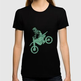 Dirt bike Motocross T-shirt