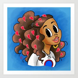 Love Your Vibe Art Print